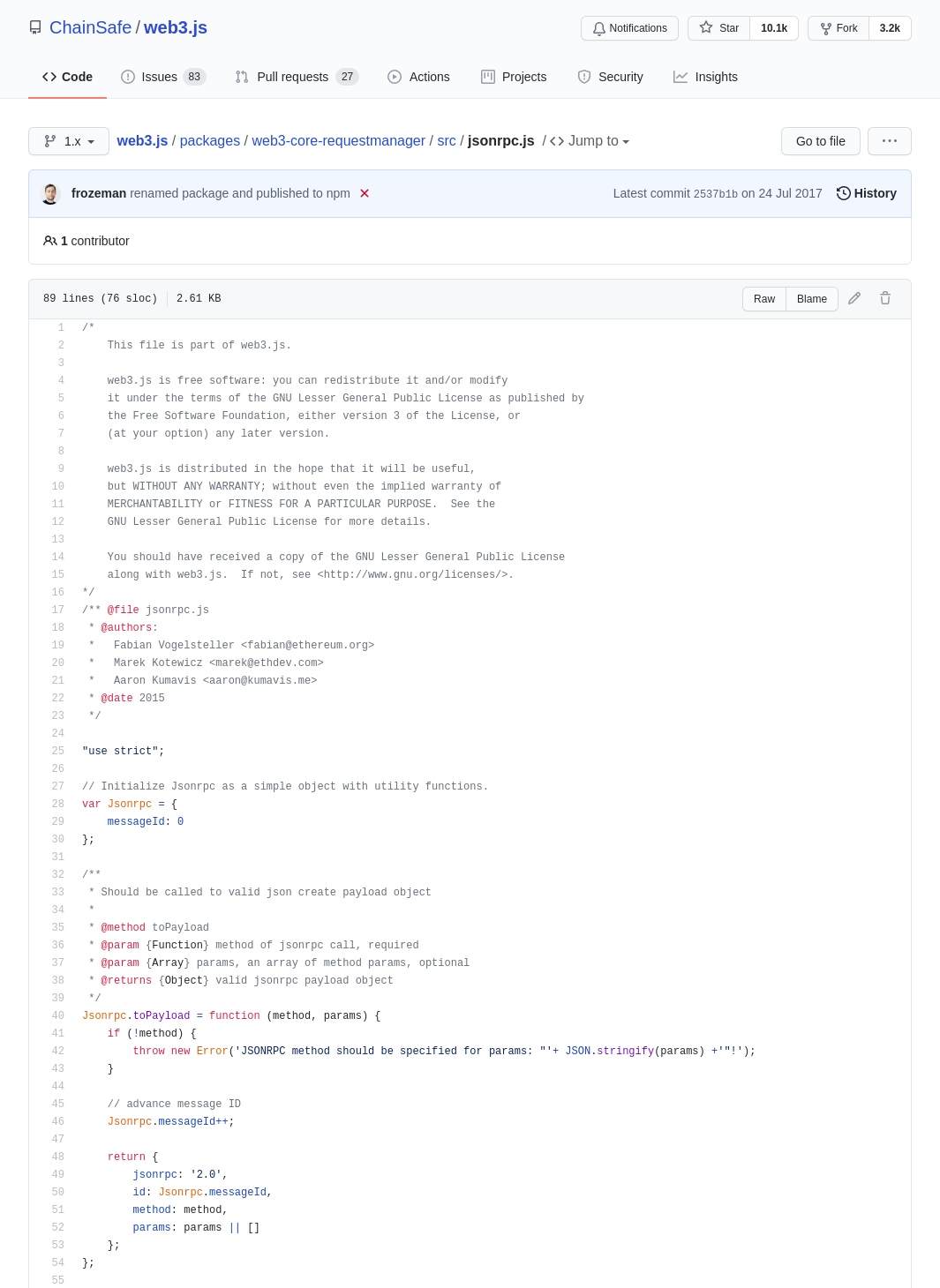 odoo区块链以太坊智能合约web3.js库jsonrpc协议